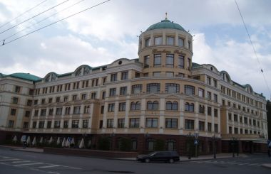 "The Hotel ""Donbass Palace"" in Donetsk"