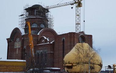 Строительство православного храма  в честь Иконы Казанской Божьей Матери