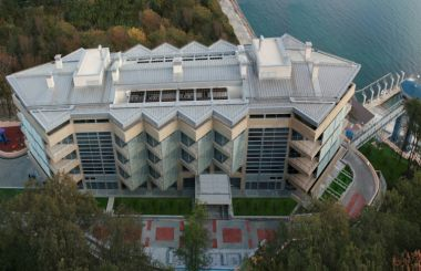"The Hotel ""Neftyanik Sibiri"" in Tuapse"